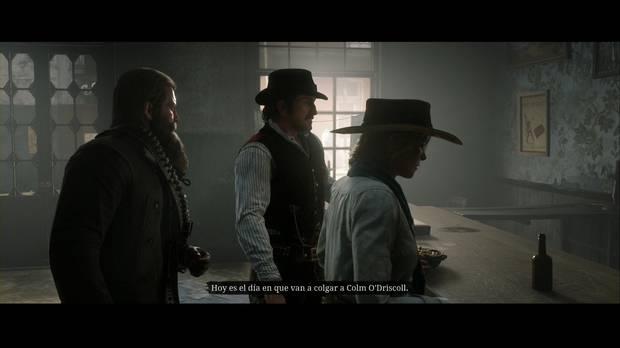 Red Dead Redemption 2 - Adiós, querido amigo: van a colgar a Colm en Saint Denis