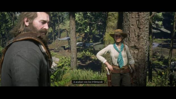 Red Dead Redemption 2 - Sadie Adler, viuda: Sadie quiere acabar con los O'Driscoll
