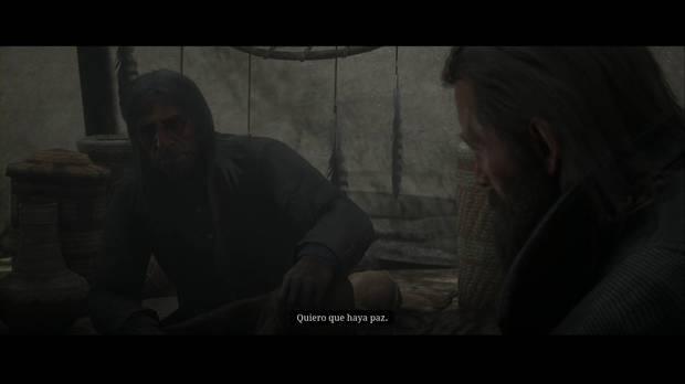 Red Dead REdemption 2 - El hijo del rey: Lluvia Repentina quiere la paz