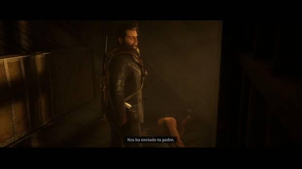 Red Dead Redemption 2 - El hijo del rey: Arthur libera a Águila voladora