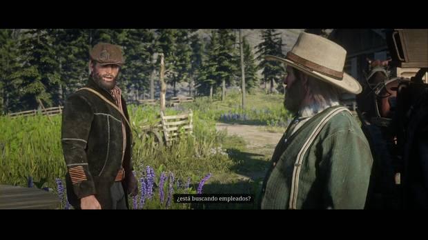 Red Dead Redemption 2 - La rueda: John busca trabajo