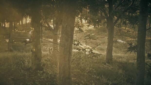 Red Dead Redemption 2 - Red Dead Redemption: Arthur dispara a los enemigos