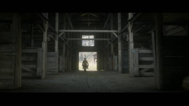 Red Dead Redemption 2 - Pequeños placeres: John y Jack recogen estiércol
