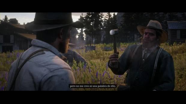 Red Dead Redemption 2 - Rancho para principiantes: John ayuda con una valla