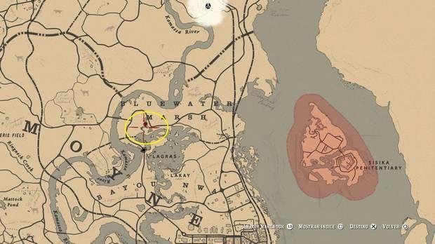 Localización de los Zombies en Red Dead Redemption 2