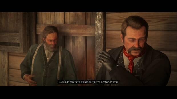 Red Dead Redemption 2 - ¿Jim Milton cabalga de nuevo?: Geddes se niega a rendirse