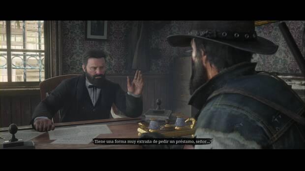 Red Dead Redemption 2 - ¿El hogar de la burguesía?: el banquero tiene sus dudas