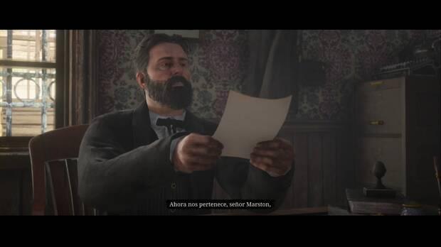 Red Dead Redemption 2 - ¿El hogar de la burguesía?: John firma la hipoteca