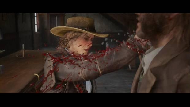 Red Dead Redemption 2 - Empleo con ganancias: Sadie golpea a un borracho