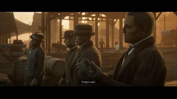 Red Dead Redemption 2 - Amigos a puñetazos: emboscada en los muelles