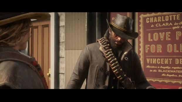 Red DEad Redemption 2 - Un favorcito para un viejo amigo: John y Uncle se encuentran con Sadie