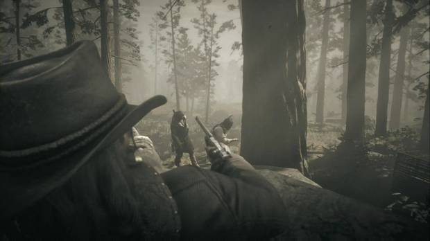 Red Dead Redemption 2 - El mal día de Uncle: John salva a Charles