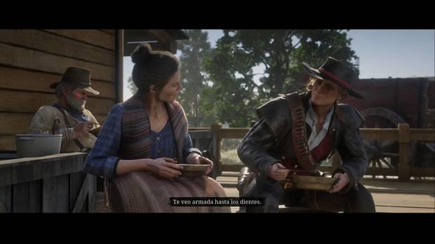 Red Dead Redemption 2 - Un cabronazo realmente grande: Abigail y Sadie hablan