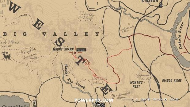 Red Dead Redemption 2 - Localización de la ardilla disecada