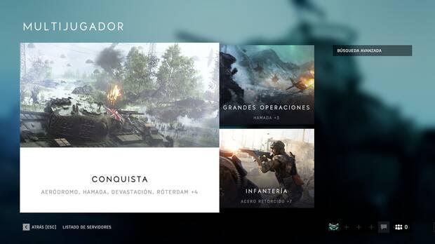 Grandes Operaciones Battlefield 5