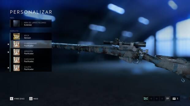 Personalización Battlefield 5