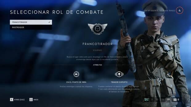 Battlefield 5 - Reconocimiento