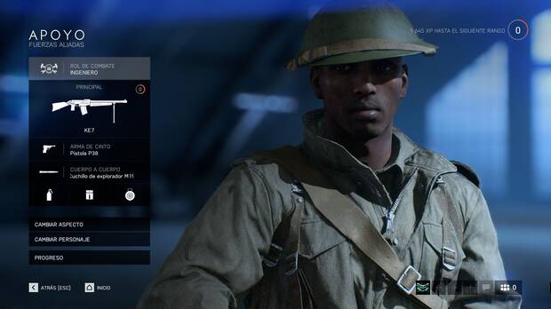 Battlefield 5 - Apoyo