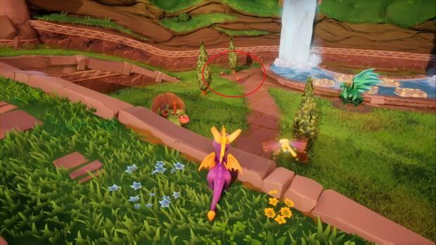 Spyro the Dragon - Artesanos: dragón Delbin