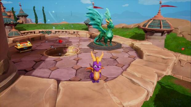 Spyro the Dragon - Colina de piedra: Gildas