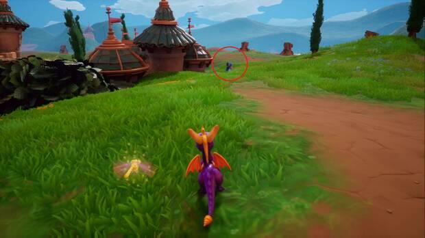 Spyro the Dragon - Colina de piedra: Ladrón de huevos