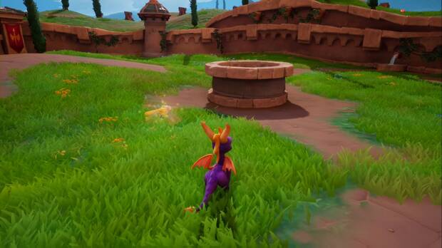 Spyro the Dragon - Colina de piedra: Gavin