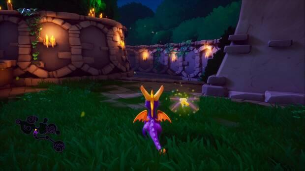 Spyro the Dragon - Valle oscuro: Escaleras al sur