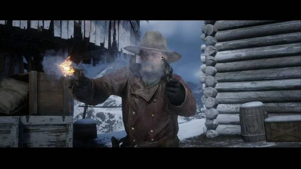Red Dead Redemption 2 - Veneno americano: Micah dispara nada más vernos