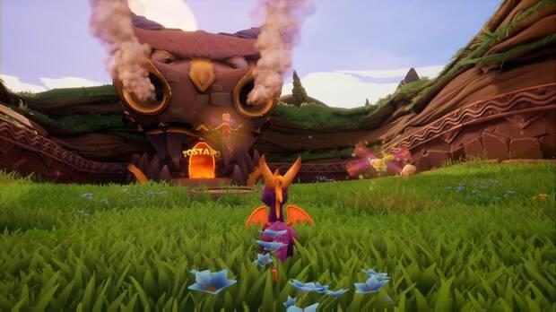 Spyro the Dragon - Tostado - Acceso