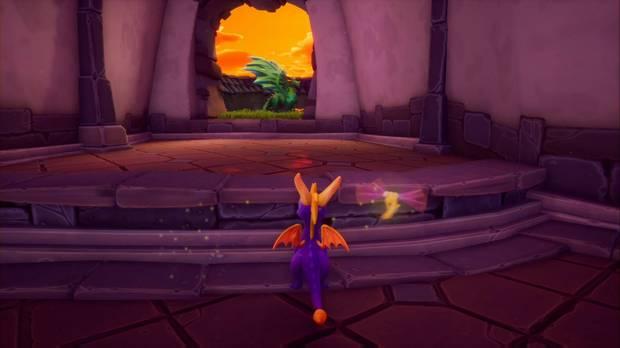 Spyro the Dragon - Tostado: estatua de Nevin