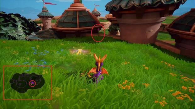 Spyro the dragon: Colinas de piedra - Punto de habilidad