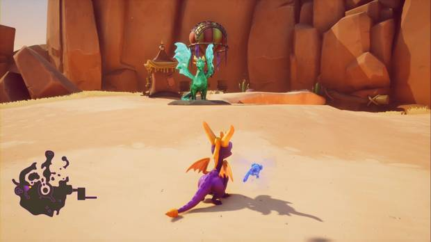 Spyro the Dragon - Tierra de los Pacificadores: Estatua Magnus