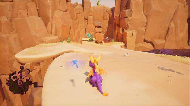 Spyro the Dragon - Tierra de los Pacificadores: Estatua de Gunnar 2