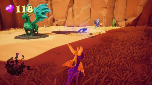 Spyro the Dragon - Tierra de los Pacificadores - Ladrón de huevos