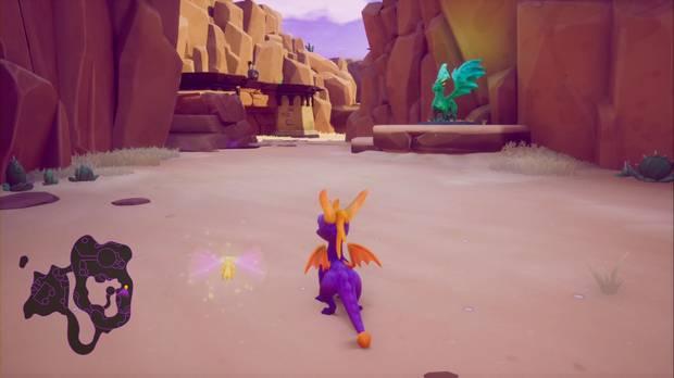 Spyro the Dragon - Cañón árido: Conan