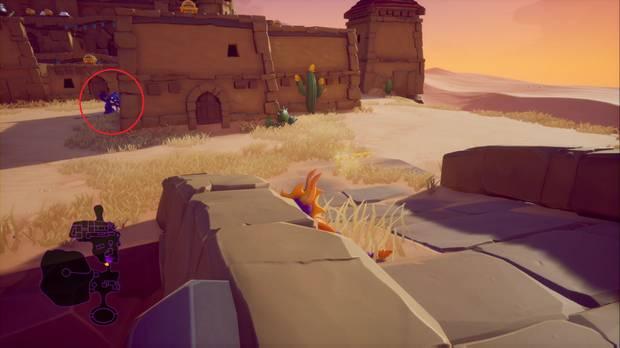 Spyro the dragon - Ciudad acantilado: ladrón de huevos