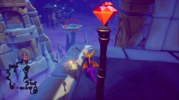 Spyro the dragon - Cueva de Hielo: llave