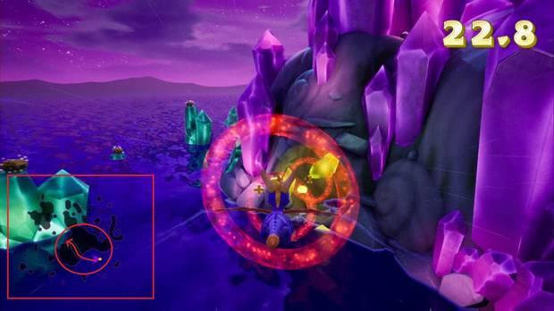 Spyro the Dragon - Vuelo nocturno: anillos