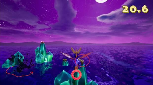 Spyro the dragon - Vuelo nocturno: cofres
