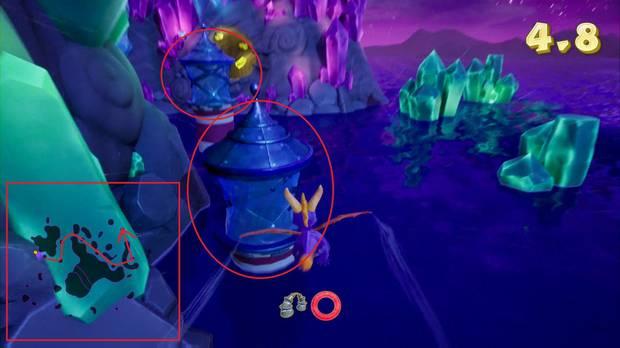 Spyro the dragon - Vuelo nocturno: Luces
