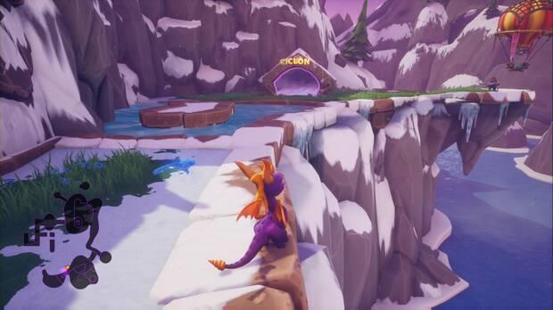 Spyro the dragon - Ciclón: entrada