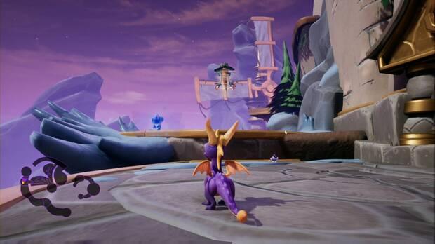 Spyro the dragon - Ciclón: jefe