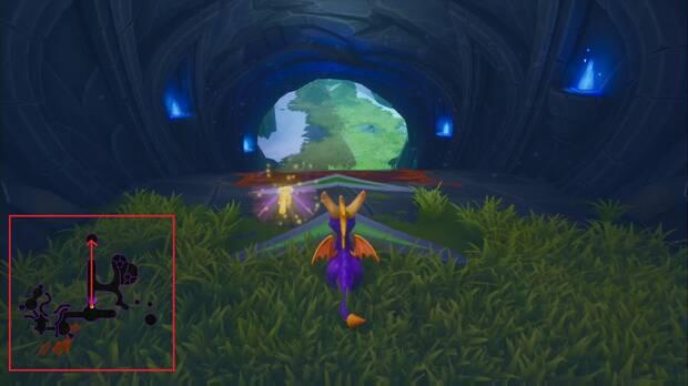 Spyro the dragon - Cumbre de los brujos: ladrón de huevos 1
