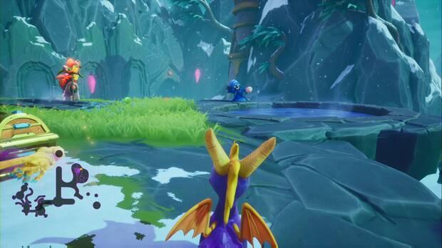 Spyro the dragon - Cumbre de los brujos: segundo ladrón