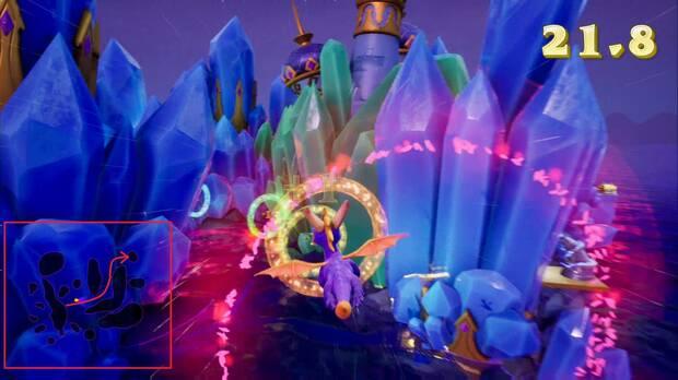 Spyro the dragon - Vuelo de cristal: Anillos