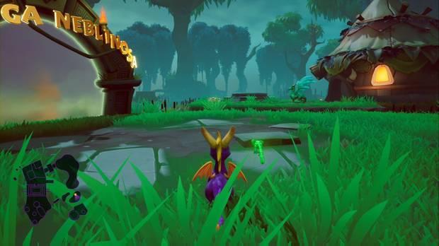 Spyro the dragon - Tierra de los creadores de bestias: estatua de Cleetus