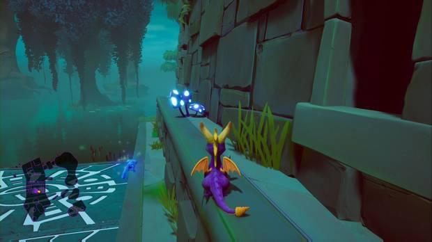 Spyro the dragon - Tierra de los creadores de bestias: setas luminosas