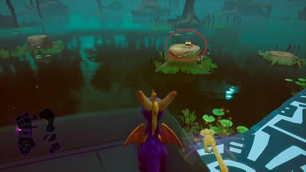 Spyro the dragon - Tierra de los creadores de bestias: localización de la llave