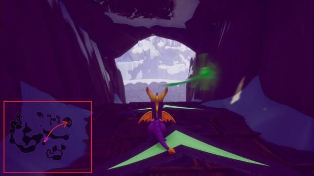 Spyro the dragon - Cuevas elevadas: ladrón de huevos 2