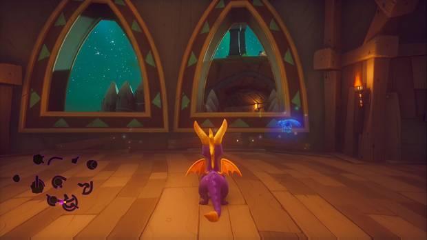 Spyro the dragon - Copas de árboles: localización de la llave